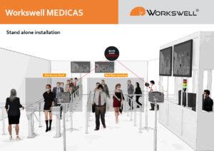 Instalace termokamery MEDICAS